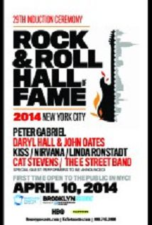Rock And Roll Hall Of Fame 2014 Induction Ceremony