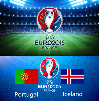 Uefa Euro 2016 Group F Portugal Vs Iceland