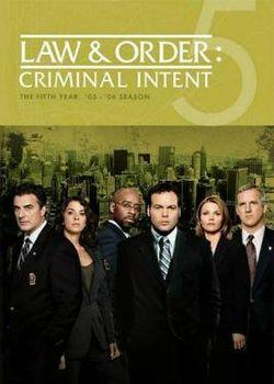 Law & Order: Criminal Intent: Season 5