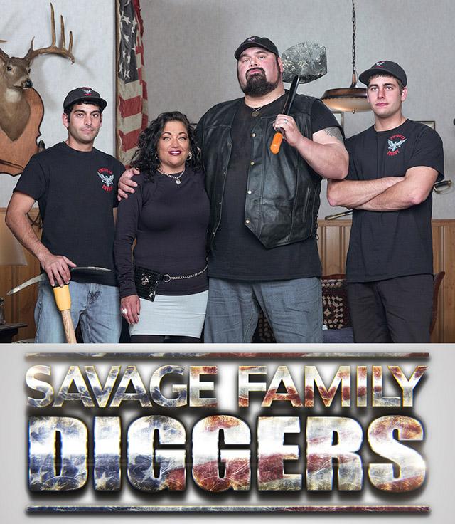 Savage Family Diggers: Season 1