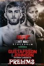 Ufc On Fox 14: Gustafsson Vs. Johnson Prelims