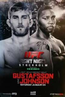 Ufc On Fox 14 Gustafsson Vs Johnson Early Prelims