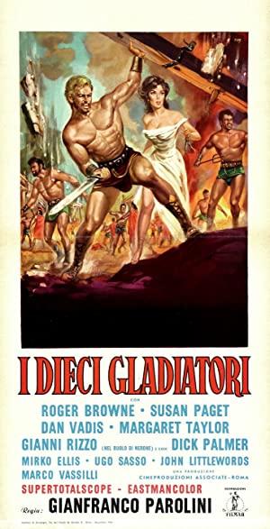 The Ten Gladiators 1963