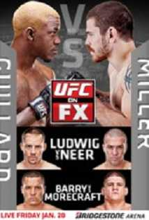 Ufc On Fx Guillard Vs Miller