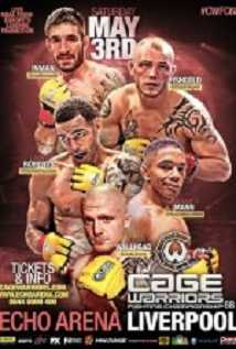 Cage Warriors 68: Roberts Vs. Wallhead