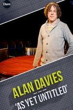 Alan Davies As Yet Untitled: Season 5