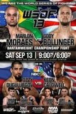 Wsof 13 Marlon Moraes Vs. Cody Bollinger