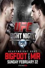 Ufc Fight Night 61 Bigfoot Vs Mir